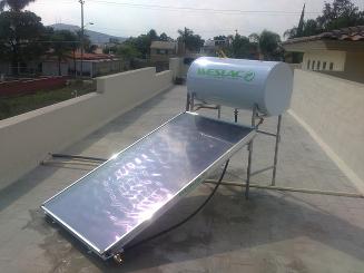 Calentador solar Weslaco